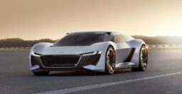 Audi PB18 e-tron: Mid-engine shooting brake EV for both road and track
