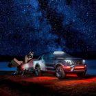 Nissan Navara Dark Sky Concept tows ESA astronomy telescope and lab