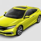 Honda Civic coupe (2019 facelift, 10th generation, USA) photos