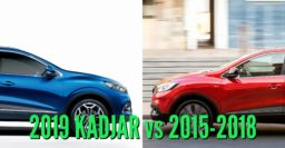 2019 Renault Kadjar vs 2015-2018: Facelift differences side by side