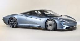 2020 McLaren Speedtail: F1 successor has central driving position too