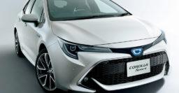 E210 Toyota Corolla sedan due 2020 in the US