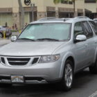 Saab 9-7X (2004-2008, first generation, on the street) photos