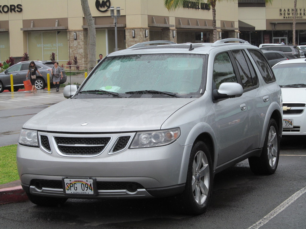 saab 9 7x 2004 2008 first generation on the street photos between the axles. Black Bedroom Furniture Sets. Home Design Ideas