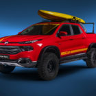 Fiat Toro Rescue: Ready to save lives at a beach, some Baywatch action