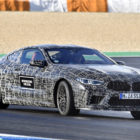 BMW M8 coupe (2019, F98, 8-Series second generation) teaser photos