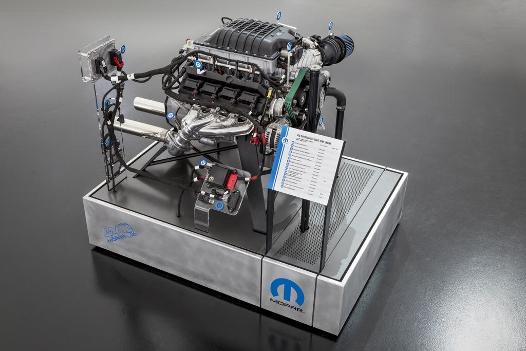 Mopar Hellephant 426 Supercharged Hemi V8 crate engine ...