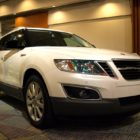 Saab 9-4X (2010-2012, first generation, on the street) photos