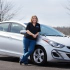 Farrah Haines hits 1 million miles in Hyundai Elantra in just 5 years