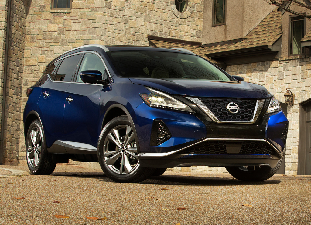 2019 Nissan Murano facelift: More safety gear, tweaked ...