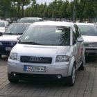 Audi A2 (1999-2005, Type 8Z, first generation, on the street) photos