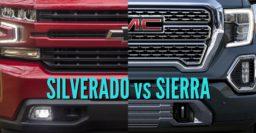 2019 Chevrolet Silverado vs GMC Sierra: Sibling differences compared