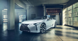 Lexus LC Convertible concept looks production ready, and super sexy