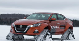 Nissan Altima-te: Snow monster has 14″ (360mm) wider body