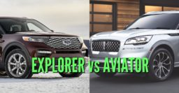 2020 Ford Explorer vs Lincoln Aviator: Differences compared side by side