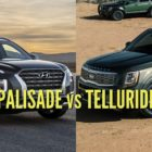 2020 Hyundai Palisade vs Kia Telluride: Differences compared side by side
