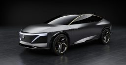 Nissan IMs concept is a high riding electric sedan with AWD
