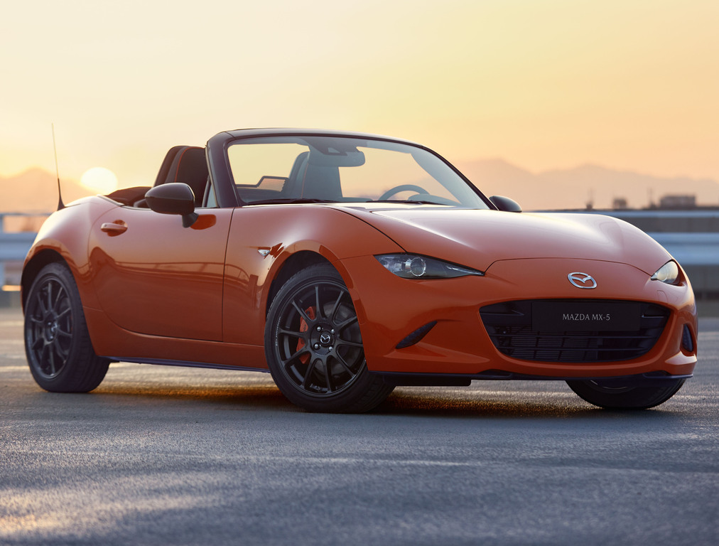2019 mazda mx 5 30th anniversary edition sold out in the us between the axles. Black Bedroom Furniture Sets. Home Design Ideas