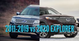 2020 Ford Explorer vs 2011-2019: Differences compared side by side