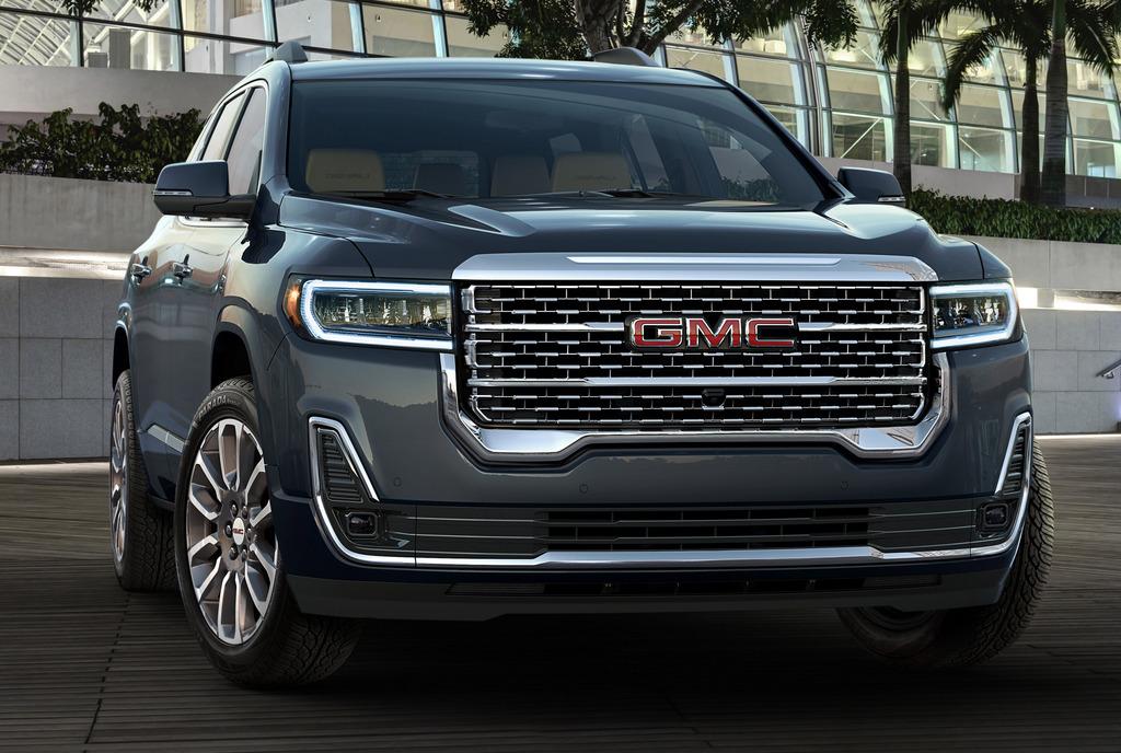 gmc acadia denali  2020 facelift  second generation  photos