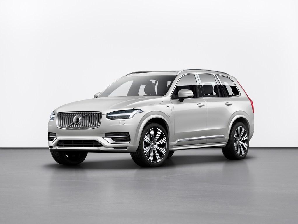 Volvo XC90 (2020 facelift, second generation) photos