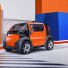 Citroen Ami One Concept: A small electric city car that doesn't need a license