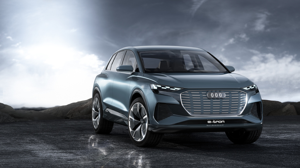 2021 audi q4 etron electric only suv previewed