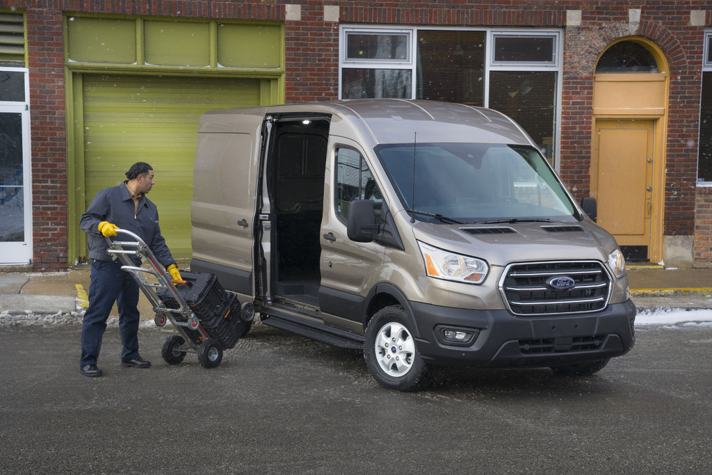 2020 Ford Transit facelift: New engines, 10-speed auto, AWD option | Between the Axles