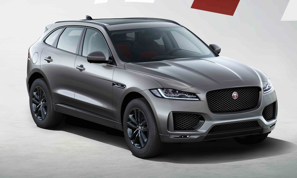 Jaguar F-Pace Chequered Flag (2020, X761, first generation ...