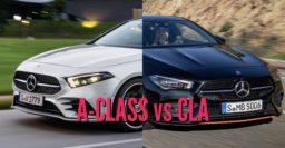 2020 Mercedes-Benz CLA vs A-Class sedan: Differences compared