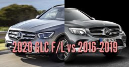 2020 Mercedes-Benz GLC vs 2016-2019: Facelift changes compared