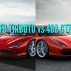 Ferrari F8 Tributo vs 488 GTB: Differences compared side by side