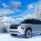 2022 Mitsubishi Outlander previewed by Engelberg plug-in hybrid concept