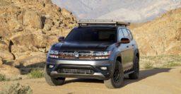 Volkswagen Atlas Basecamp concept imagines going offroad