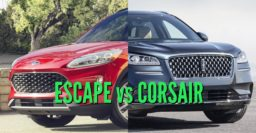2020 Ford Escape vs Lincoln Corsair: Differences compared side by side