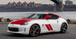 2020 Nissan 370Z 50th Anniversary Edition is full of stickers