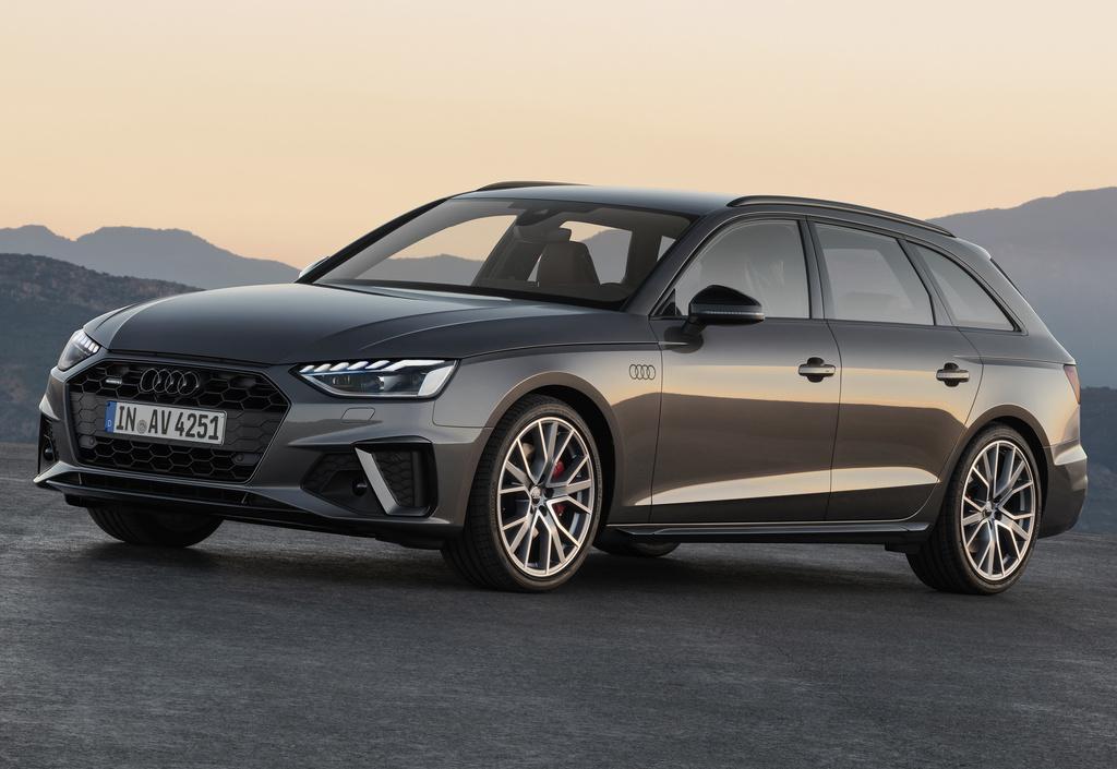 Audi A4 wagon (2020 facelift, B9, Type 8W, fifth ...