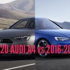 2020 Audi A4 vs 2016-2019 sedan: Facelift differences compared