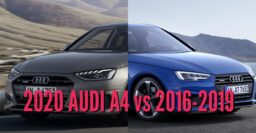 2020 Audi A4 vs 2016-2019 sedan: Facelift differences compared