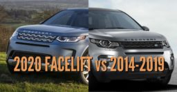 2020 Land Rover Discovery Sport vs 2014-2019: Facelift differences compared