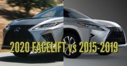 2020 Lexus RX vs 2015-2019: Facelift changes & differences compared