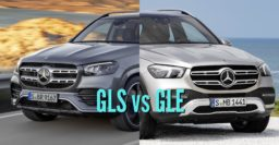 2020 Mercedes-Benz GLS vs GLE: Differences compared side by side