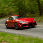 Toyota Supra GR (2020, A90, fifth generation, US launch) photos