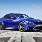 BMW M3 CS (2018, F80, sixth generation, blue) photos