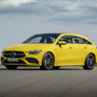 2020 Mercedes-AMG CLA35 now in estate, sorry shooting brake, form