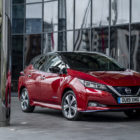 Nissan Leaf E+ (2019, ZE1, second generation, UK) photos