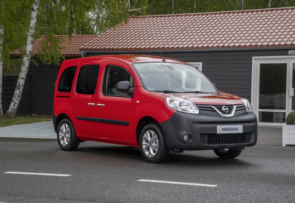 Nissan NV250 Crew Cab Van (2019, first generation) photos