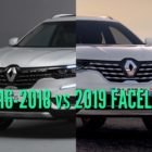 2019 Renault Koleos vs 2016-2018: Facelift changes & differences