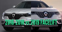 2019 Renault Koleos vs 2016-2018: Facelift changes & differences