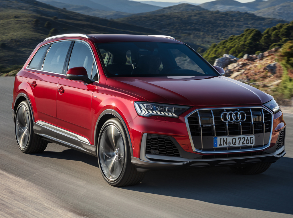 audi q7 (2020 facelift, type 4m, second generation) photos